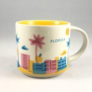 "Florida Starbucks ""You Are Here"" Series Mug"